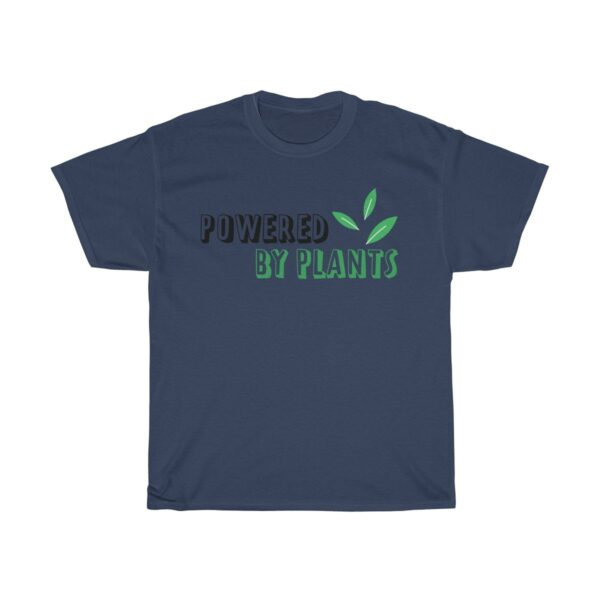 Unisex Heavy Cotton T-Shirt Powered By Plants – Unisex Heavy Cotton Grapic T-Shirt Cool T-Shirts