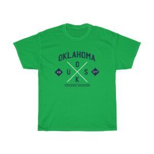 Unisex Heavy Cotton T-Shirt Oklahoma USA – Unisex Heavy Cotton Graphic T-Shirt Custom T-Shirts