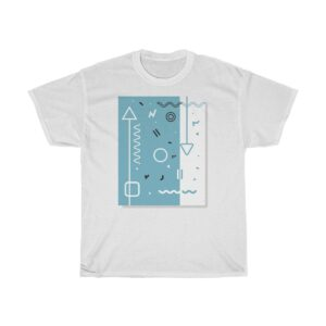 Unisex Heavy Cotton T-Shirt Abstract I – Unisex Heavy Cotton Graphic T-Shirt Cool T-Shirts