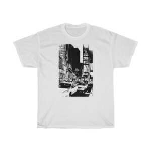 Unisex Heavy Cotton T-Shirt NY Times Square – Unisex Heavy Cotton Grunge T-Shirt Cool T-Shirts