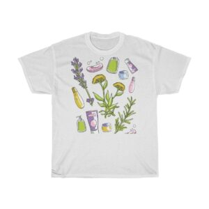 Unisex Heavy Cotton T-Shirt Herbal Essence – Unisex Heavy Cotton Cute T-Shirt Custom T-Shirts