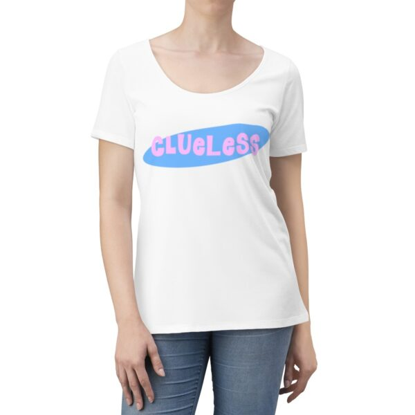 Women's Scoop Neck T-shirt Clueless – Women's Scoop Neck Cute T-shirt Custom T-Shirts