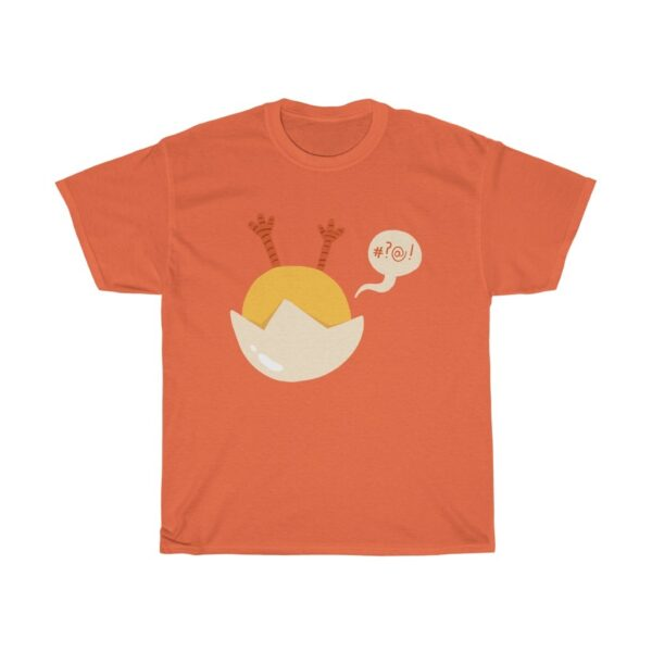 Unisex Heavy Cotton T-Shirt Easter Chick – Cute Funny Unisex Heavy Cotton Holiday T-Shirt Cute T-Shirts
