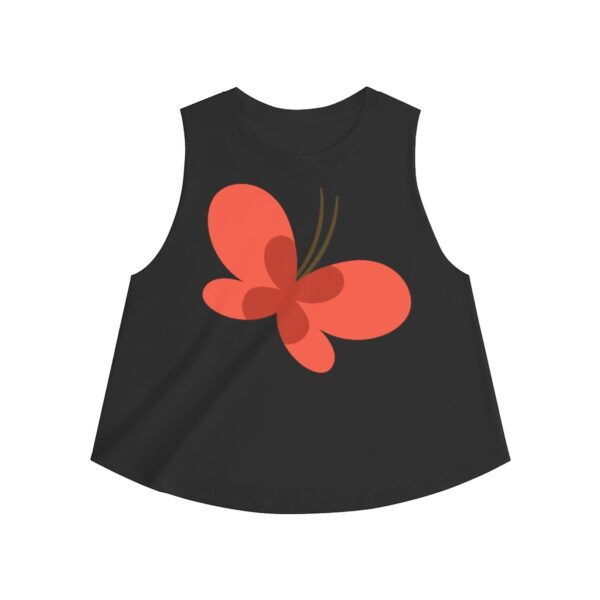 Women's Crop Top Butterfly – Women's Crop Top T-Shirt Art T-Shirts