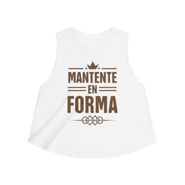 Women's Crop Top Mantente En Forma – Women's Crop Top T-Shirt Art T-Shirts