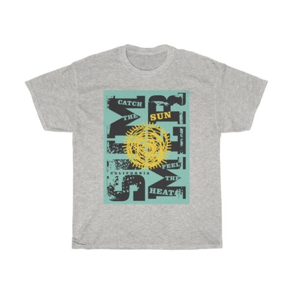 Unisex Heavy Cotton T-Shirt Summer Sun – Unisex Heavy Cotton Tee Graphic T-Shirt Art T-Shirts