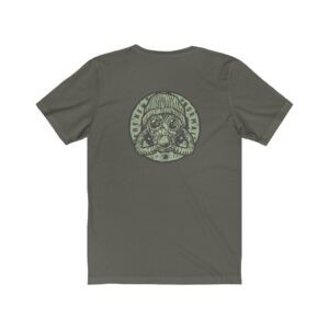 Print On Back Jersey T-Shirt The New Normal – Print On Back Jersey Tee Grunge T-Shirt Cool T-Shirts