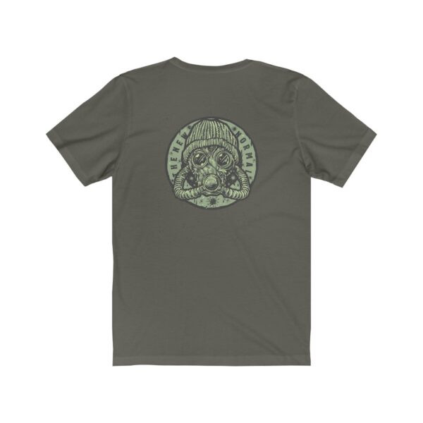 Print On Back Jersey T-Shirt The New Normal – Print On Back Jersey Tee Grunge T-Shirt Cool T-Shirts 2