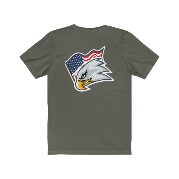 Print On Back Jersey T-Shirt Screaming Eagle – Print On Back Jersey Tee Political T-Shirt Cool T-Shirts 22