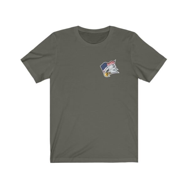Print On Back Jersey T-Shirt Screaming Eagle – Print On Back Jersey Tee Political T-Shirt Cool T-Shirts 23