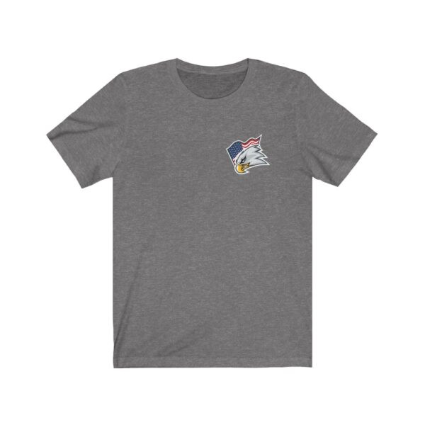 Print On Back Jersey T-Shirt Screaming Eagle – Print On Back Jersey Tee Political T-Shirt Cool T-Shirts 13
