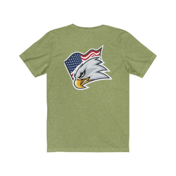 Print On Back Jersey T-Shirt Screaming Eagle – Print On Back Jersey Tee Political T-Shirt Cool T-Shirts 20