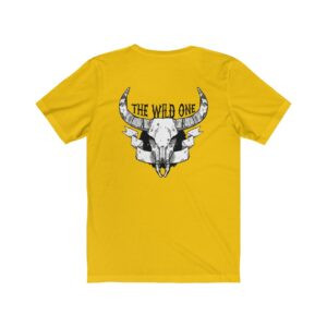 Print On Back Jersey T-Shirt The Wild One – Print On Back Jersey Tee Grunge T-Shirt Biker T-Shirts
