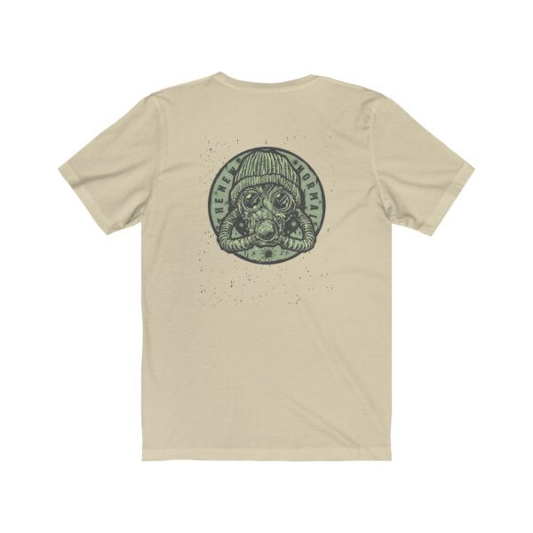 Print On Back Jersey T-Shirt The New Normal – Print On Back Jersey Tee Grunge T-Shirt Cool T-Shirts 14