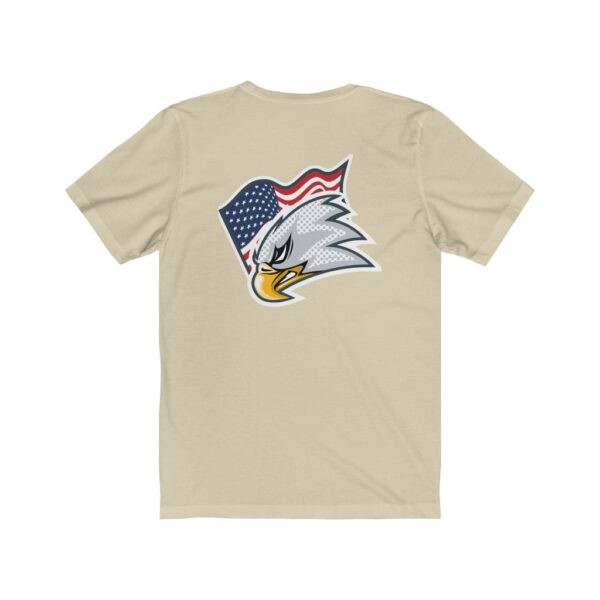 Print On Back Jersey T-Shirt Screaming Eagle – Print On Back Jersey Tee Political T-Shirt Cool T-Shirts 14