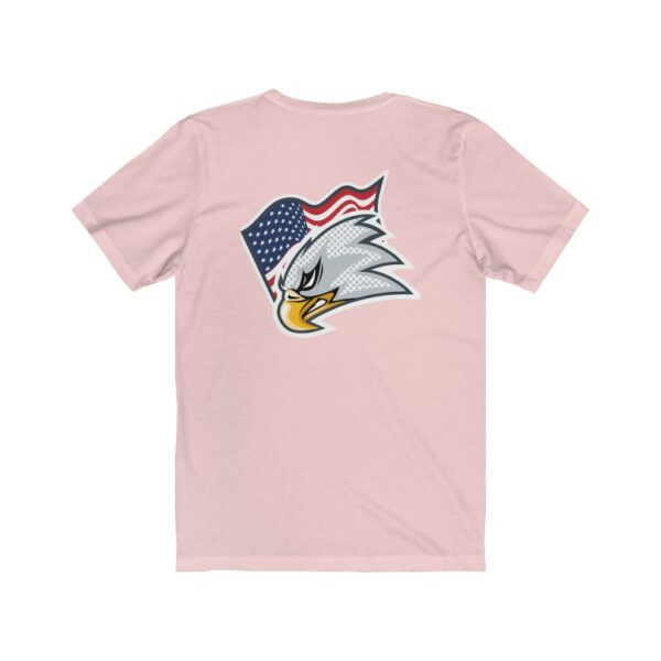 Print On Back Jersey T-Shirt Screaming Eagle – Print On Back Jersey Tee Political T-Shirt Cool T-Shirts 8