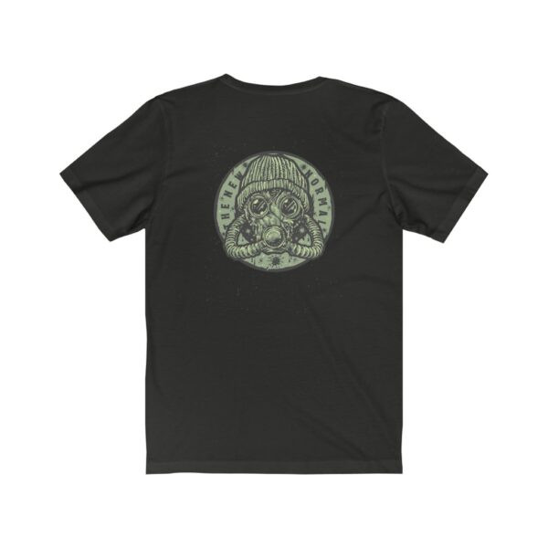 Print On Back Jersey T-Shirt The New Normal – Print On Back Jersey Tee Grunge T-Shirt Cool T-Shirts 24