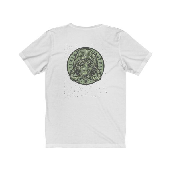 Print On Back Jersey T-Shirt The New Normal – Print On Back Jersey Tee Grunge T-Shirt Cool T-Shirts 4