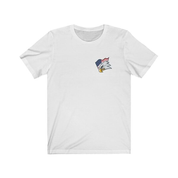 Print On Back Jersey T-Shirt Screaming Eagle – Print On Back Jersey Tee Political T-Shirt Cool T-Shirts 5