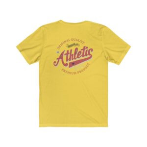 Print On Back Jersey T-Shirt Jersey Tee Print On Back Athletic T-Shirt Cool T-Shirts