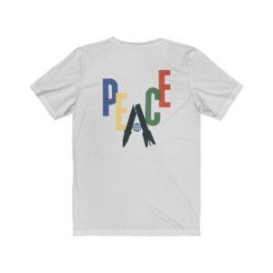 Print On Back Jersey T-Shirt Peace Missile – Print On Back Jersey Tee Political T-Shirt Art T-Shirts