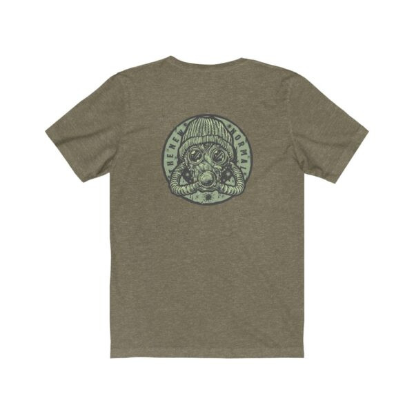 Print On Back Jersey T-Shirt The New Normal – Print On Back Jersey Tee Grunge T-Shirt Cool T-Shirts 16