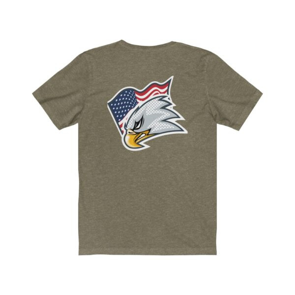 Print On Back Jersey T-Shirt Screaming Eagle – Print On Back Jersey Tee Political T-Shirt Cool T-Shirts 16