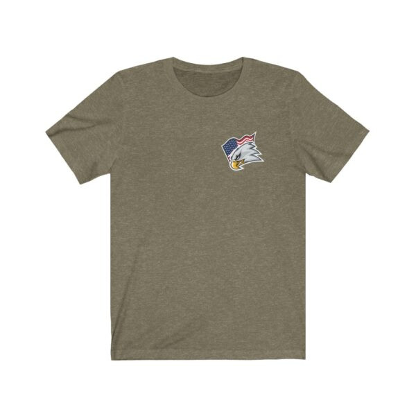 Print On Back Jersey T-Shirt Screaming Eagle – Print On Back Jersey Tee Political T-Shirt Cool T-Shirts 17
